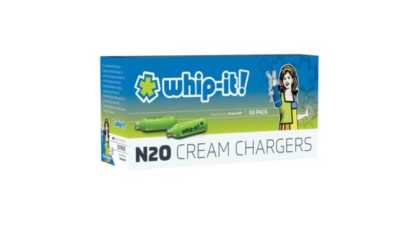 Whip-it cream chargers